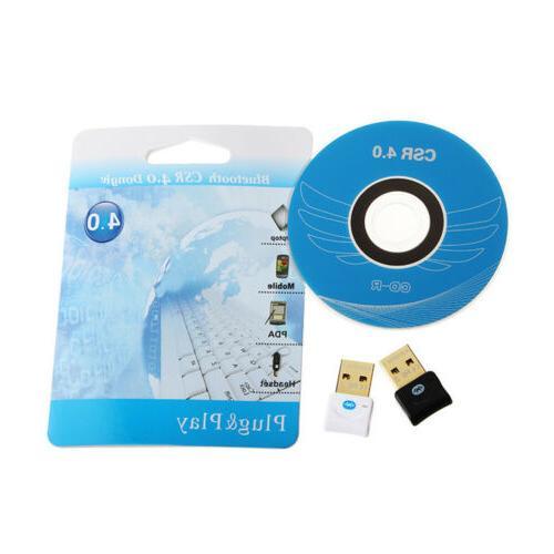 Mini Audio Bluetooth Wireless USB Adapter PC/Laptop