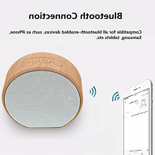 Mini Speaker, Portable Audio TF Aux-in Smart Tablet Music Player for Indoor