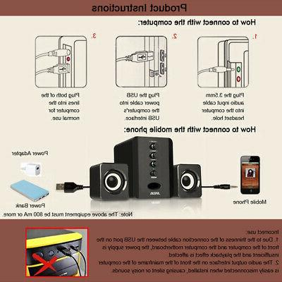 Stereo 3D Surround Audio Bass