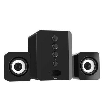 USB Computer Desktop Speakers Stereo Surround Bass for