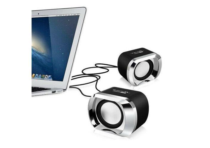 Mini Computer PC Desktop Laptop Stereo