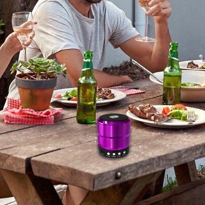 Mini Portable Bluetooth Speaker Bass-iPhone Samsung Loud 5W