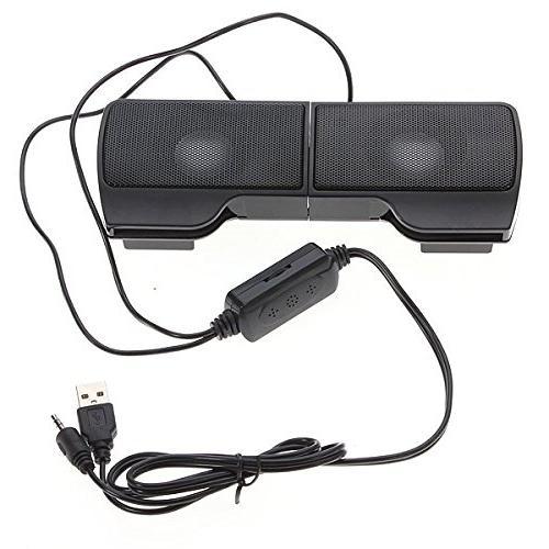 ELEGIANT USB Stereo for MP3 Laptops PC