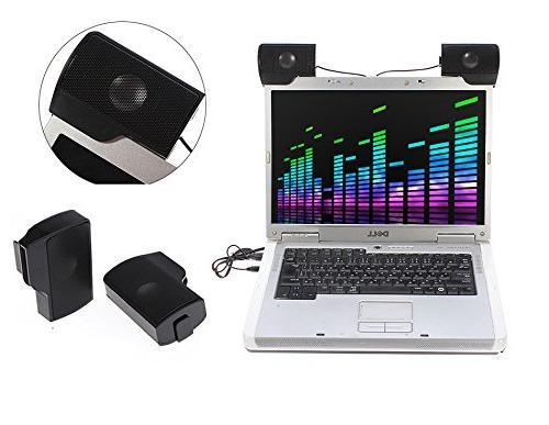 ELEGIANT Portable USB Speaker Stereo MP3 Phone Laptops PC