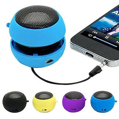 mini portable hamburger speaker amplifier for ipod