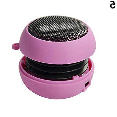 Mini Portable Hamburger Stereoo Speakers Amplifier For Laptop PC