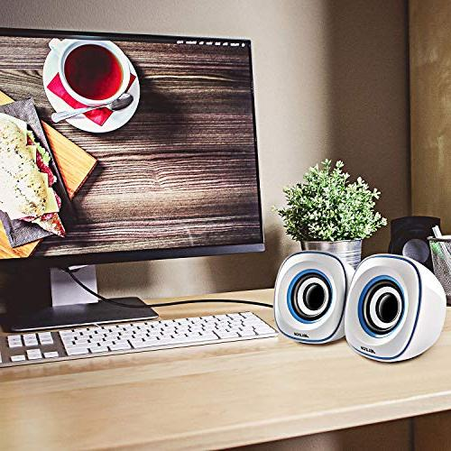JELICH Speakers - Powered with Light Needs for PC/Desktop/Laptops/Smart