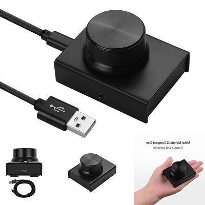 us usb volume controller knob adjuster switcher