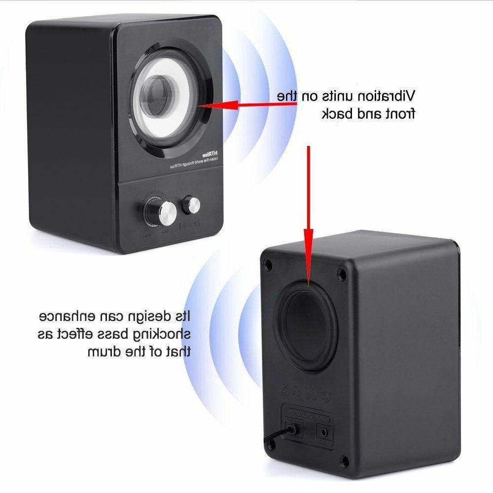 Multimedia Speaker System PC Desktop 2.1 Bass Subwoofer