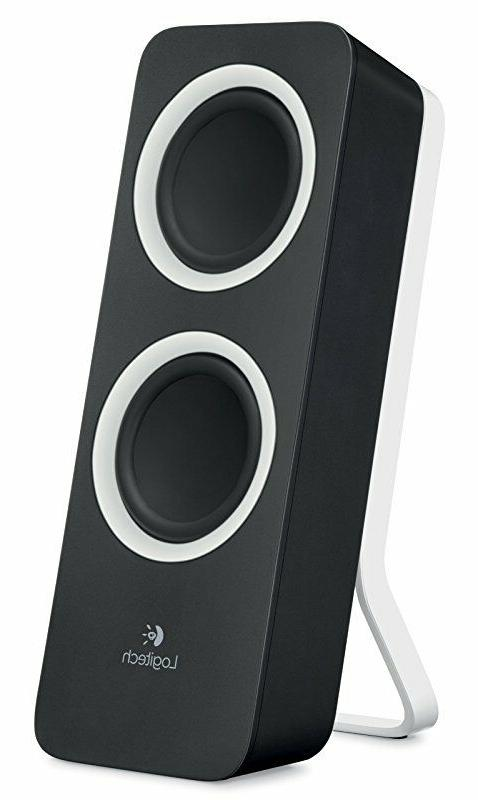 Logitech Multimedia Speakers Z200 with Stereo for Multiple Devices,