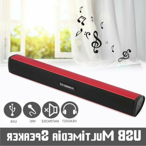 multimedia usb powered mini soundbar speaker