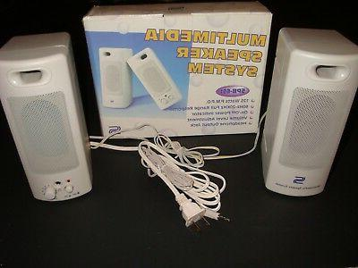 NEW-125 WATTS PC Multimedia SPEAKERS,SPB-691, *