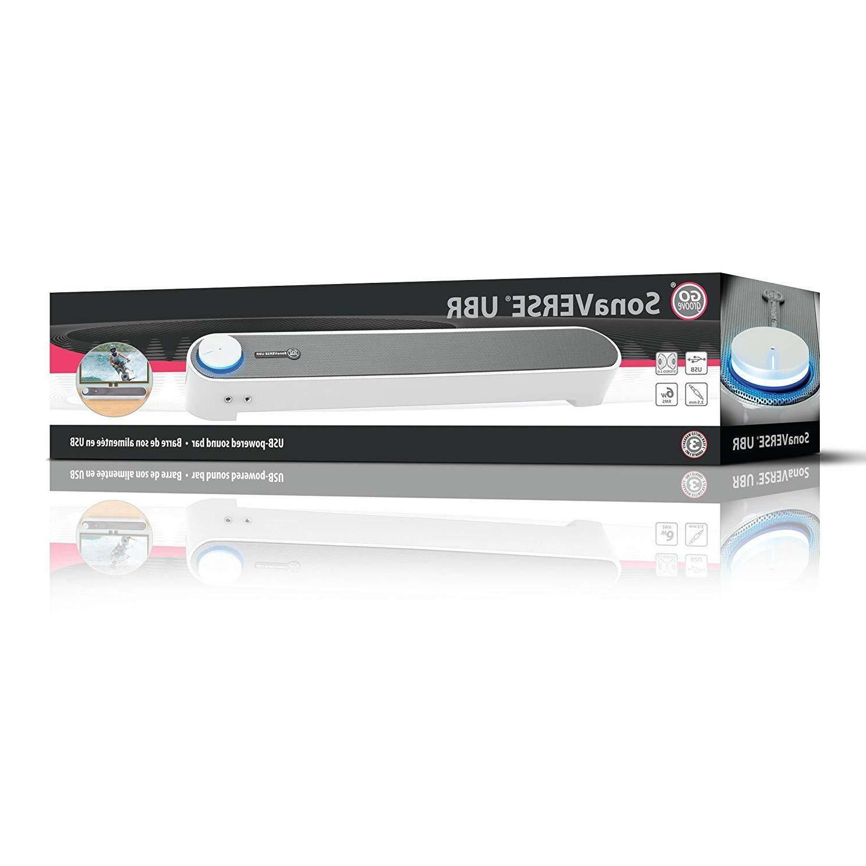 NEW CRISP CLEAR AUDIO Desktop PC USB Powered Bar