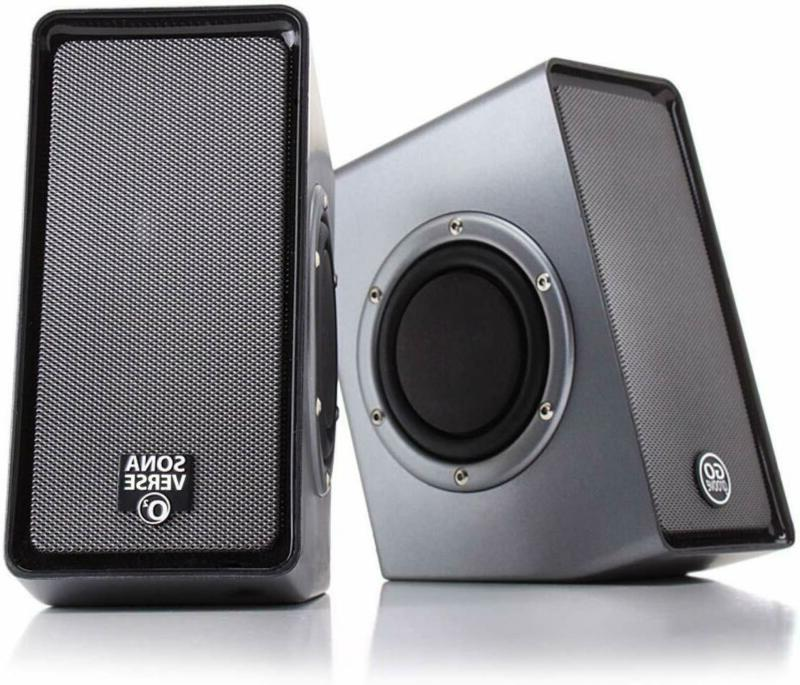 HP V3Y47AA#ABL Wired USB Speakers S3100