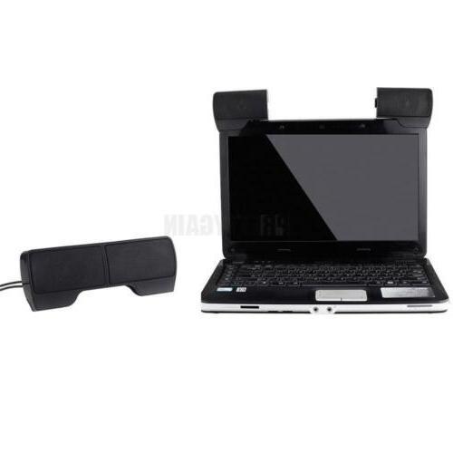 New USB External Computer Speakers Laptop PC