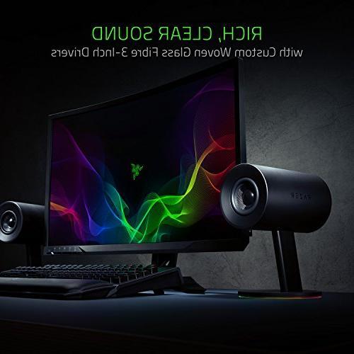 Razer Chroma: Woven Glass Drivers Ports - Knob w/ Automatic Gain - Razer Enabled - PC