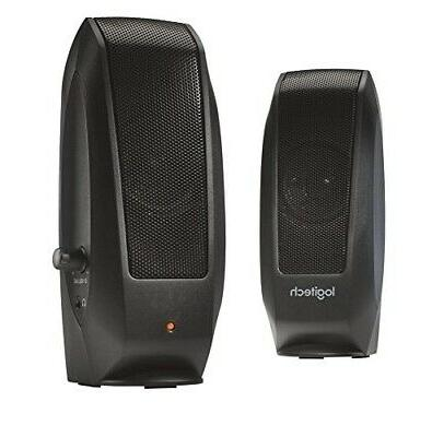 oem s120 black speakers 2 0