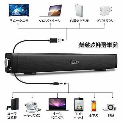 PC Speaker Bar USB stereo