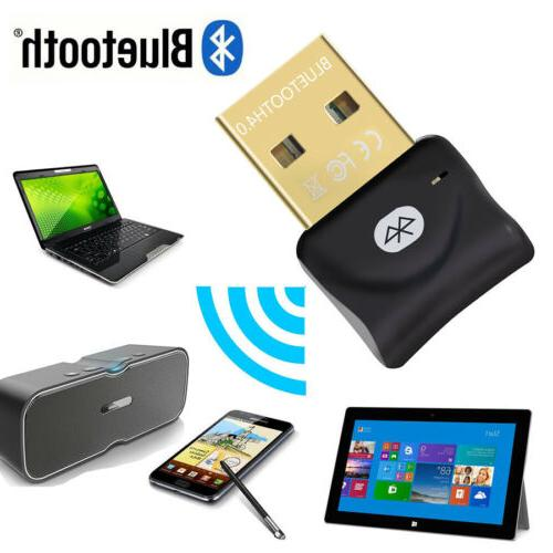 PC USB to Bluetooth Wireless Adapter Dongle for US