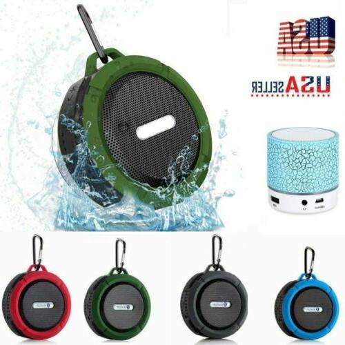 portable bluetooth wireless super bass mini speaker