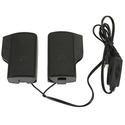 Durable Wall-mounted External PC USB Speaker Stereo for Comp