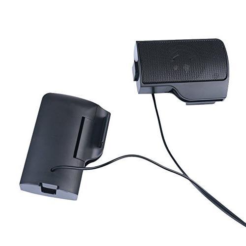 SUPVIN Portable USB Speaker for Notebook Black