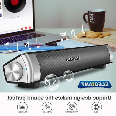 portable stereo wireless sound bar bluetooth speakers