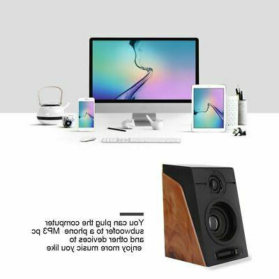 Portable USB Subwoofer Multimedia Speaker Desktop Computer CHU