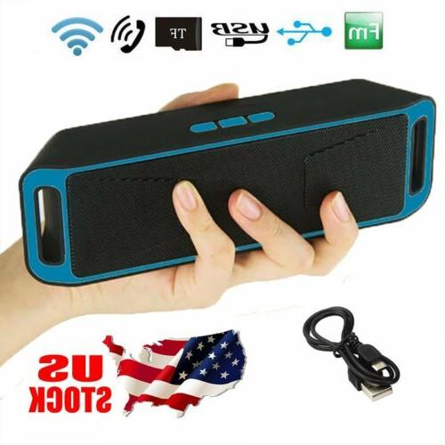Portable Wireless Bluetooth FM Stereo For Phone