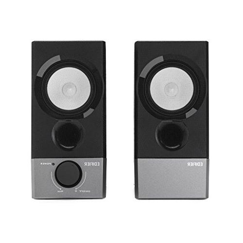 Edifier Compact 2.0 Speakers Powered by Supports Windows Mac Sierra