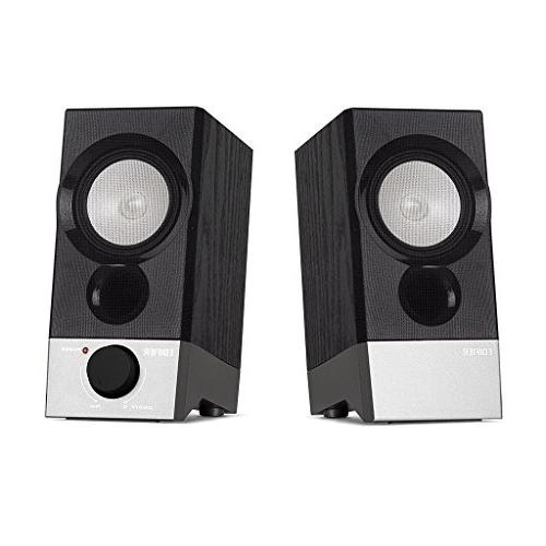 Edifier R19U Compact 2.0 Speakers Powered by USB Supports Windows and Sierra
