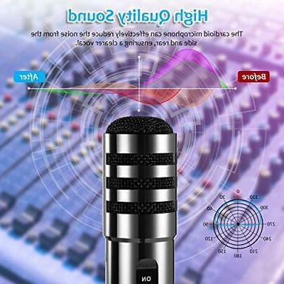 Recording Microphone, Condenser Play,
