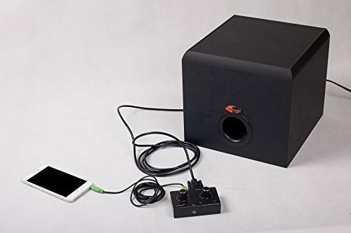 Pod with Button for Klipsch Computer