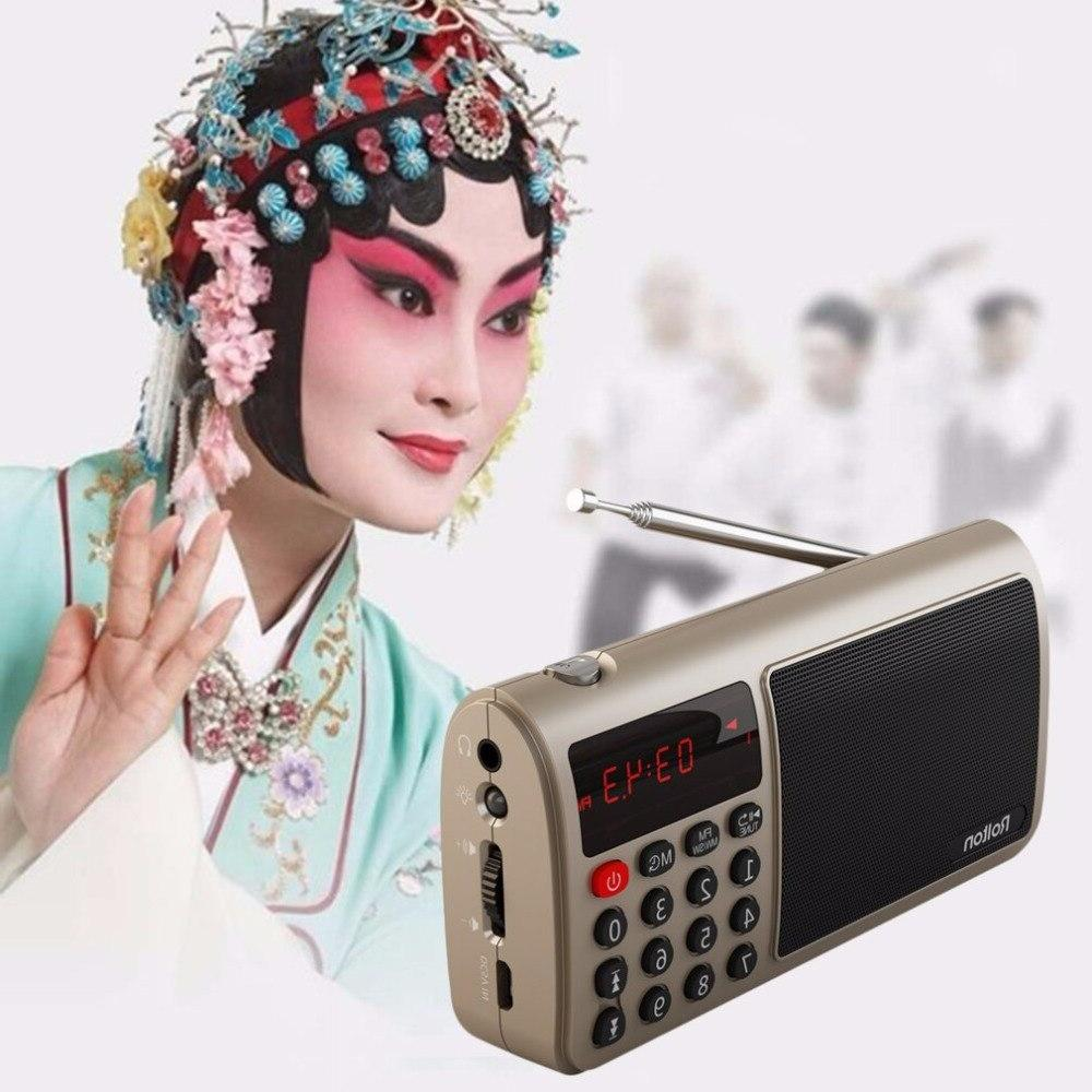 Rolton FM/MW/<font><b>SW</b></font> Radio <font><b>Speaker</b></font> Mp3 Music Player Card