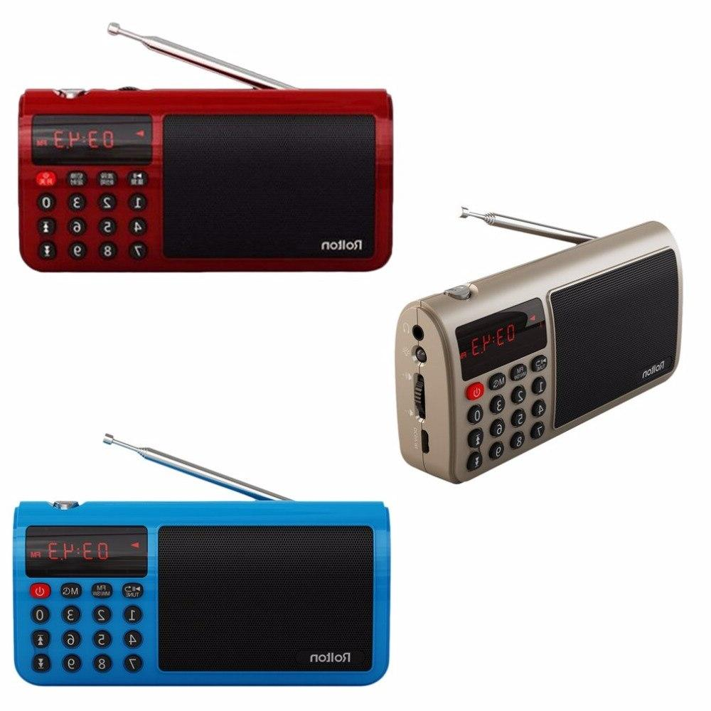 Rolton High FM/MW/<font><b>SW</b></font> Stereo Radio Mp3 Music Player Card for