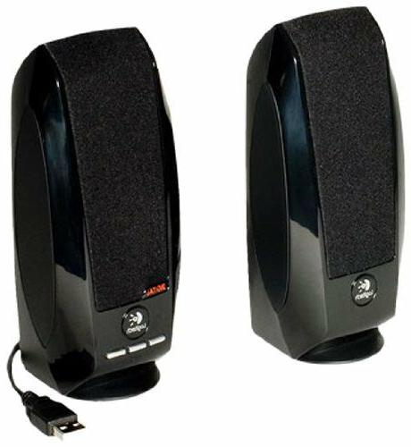 Logitech USB Connectivity Speakers with Digital Sound for Ma