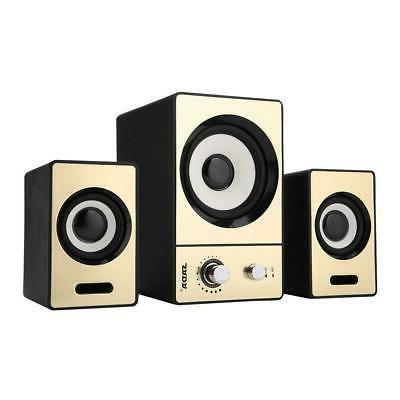 SADA Bluetooth Speakers HiFi Music Subwoofer For Computer
