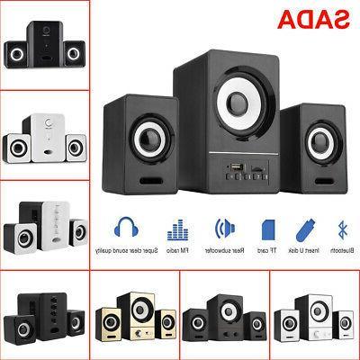 sada bluetooth usb speakers hifi music pc