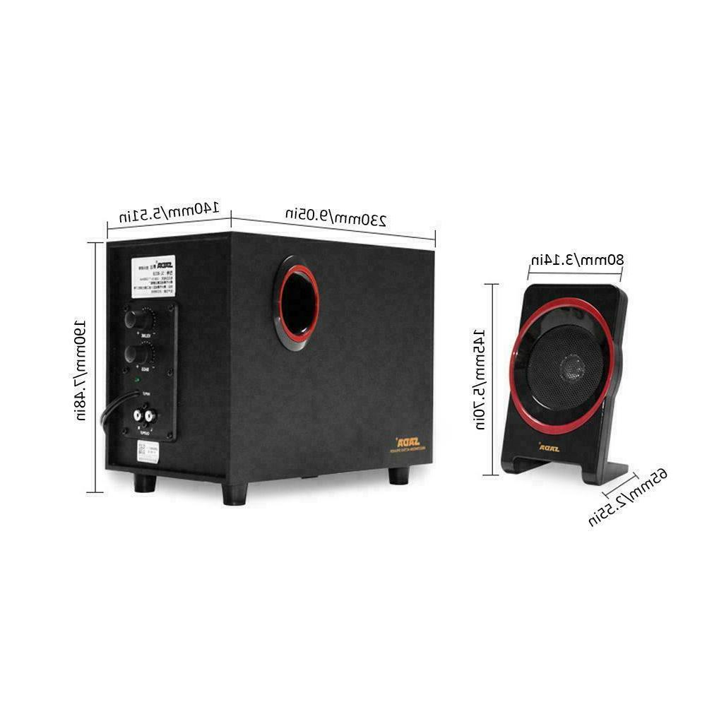 SADA SL-8018 Multimedia PC Speakers USB Desktop Phone Speaker