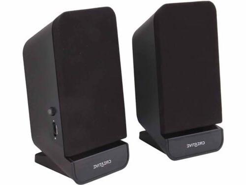 Creative Portable Stereo Speaker System for