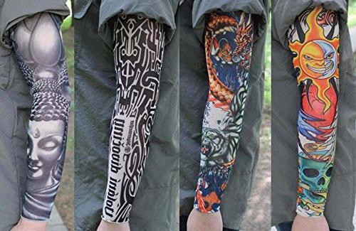 PANDA 2 Sleeves Body Art Covers Tattoo