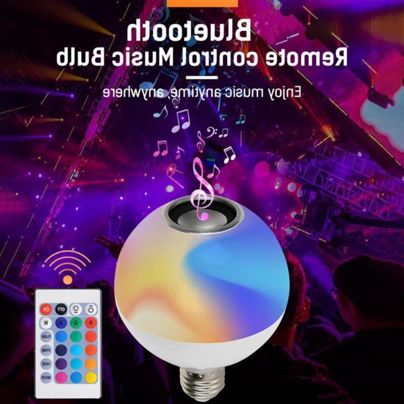 Smart E27 <font><b>Speaker</b></font> Dimmable