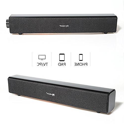 Sound Wireless Computer Soundbar PC Cellphone Tablets