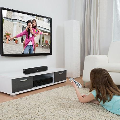 Sound Wired Audio Stereo, Theater Speaker, Surround TV, PC, Projector and