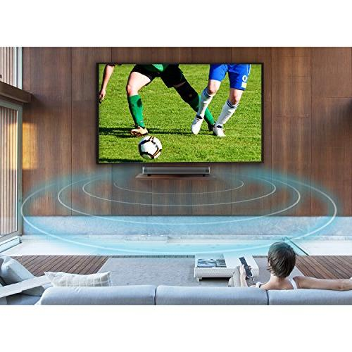 Sound Surround Soundbar Wireless for TV/PC/Tablet/Smartphone(Included Cable, Dual Control)