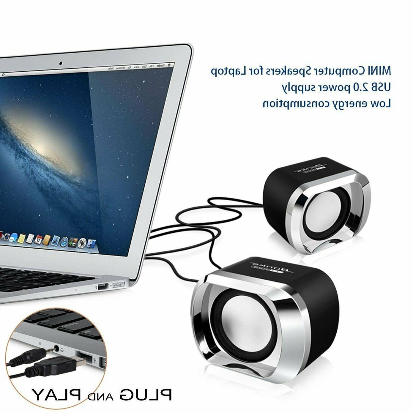 Speakers Desktop Laptop New