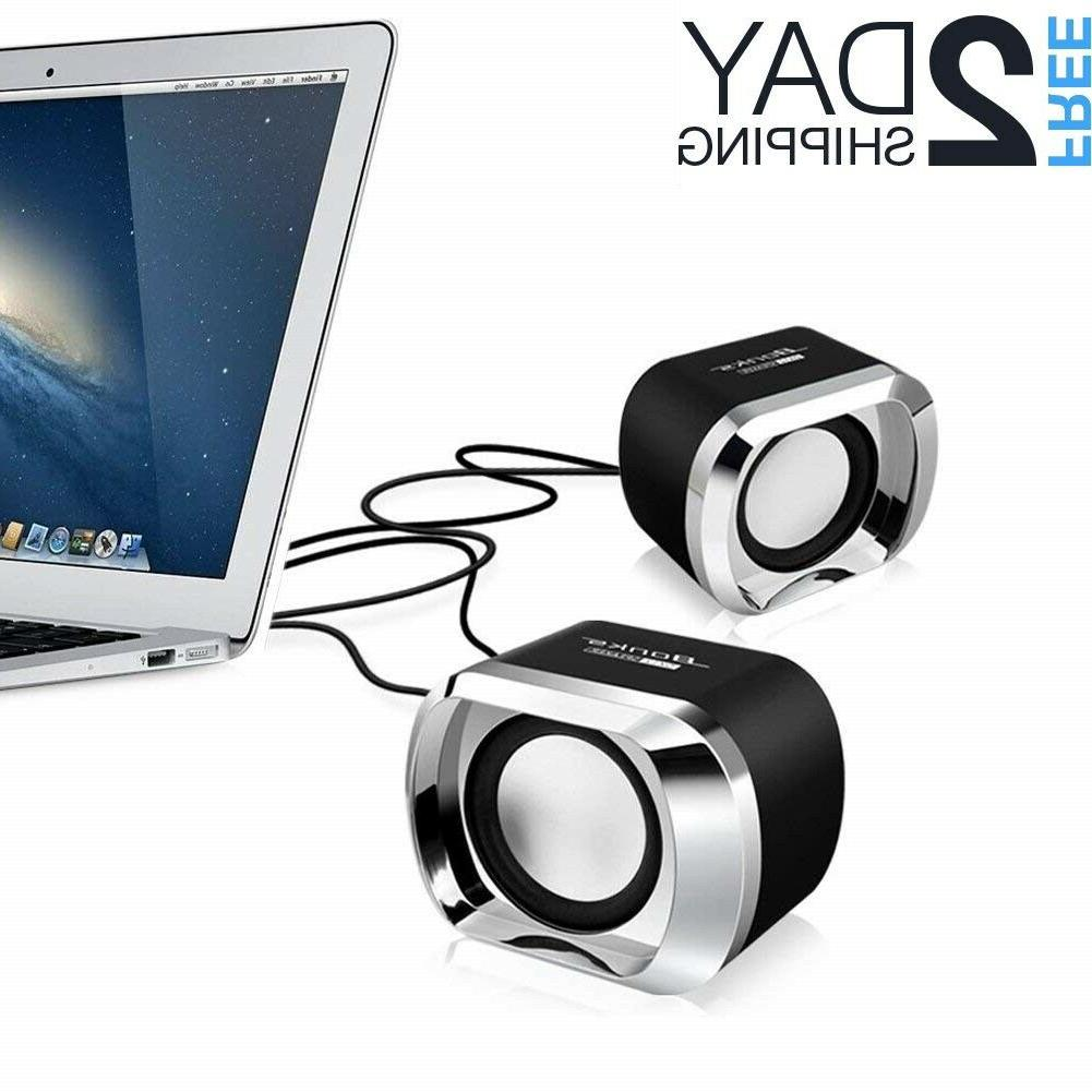 speakers computer usb pc desktop laptop stereo