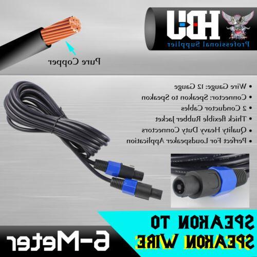 Speakon Kit 1pc Phono Copper + Male Plug