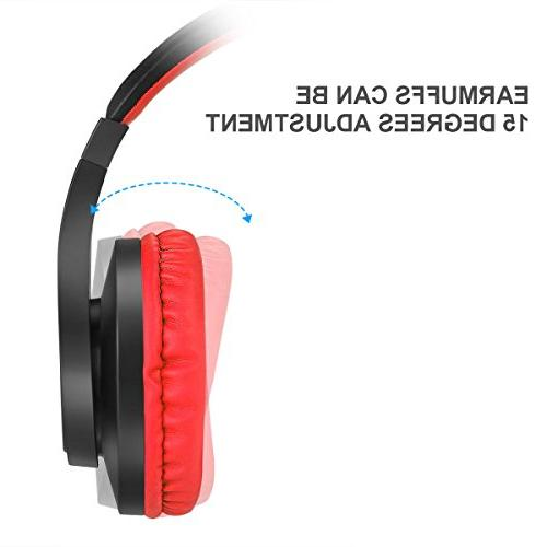 BUTFULAKE Gaming Headset and OVER-ALL Control with Mic for Laptop