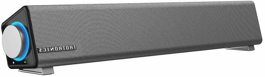 Stereo USB Powered Soundbar PC Tablets Desktop